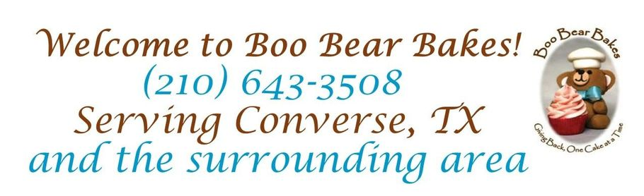 Boo Bear Bakes - (210) 643-3508 ​​​Serving Converse, TX and the surrounding area